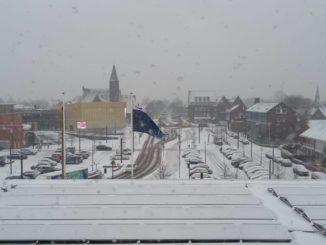 Sneeuw in Barendrecht