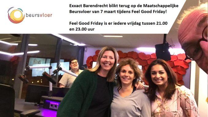 Terugblik beursvloer in Feel Good Friday